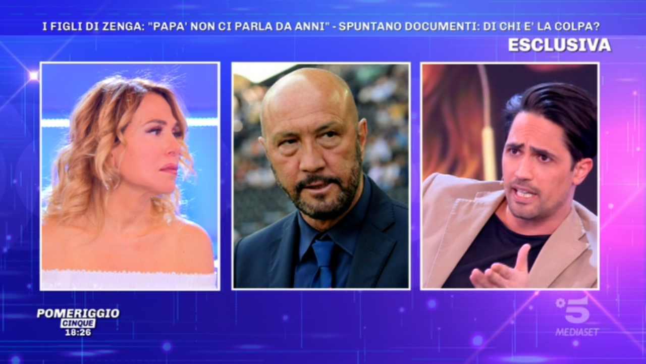Andrea Zenga riabbraccia la madre Roberta Termali - Grande Fratello VIP | GFVIP 5