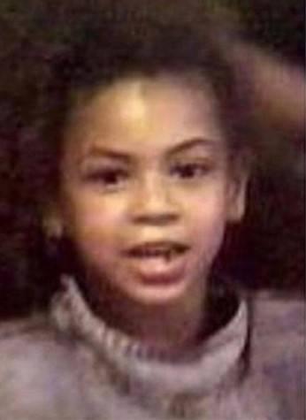 Beyonce da bambina