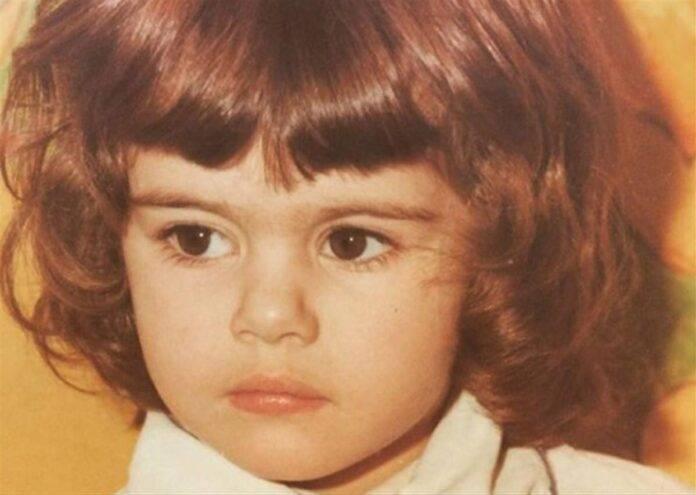Bianca Guaccero da piccola