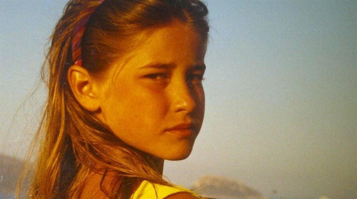 Elena Santarelli piccola