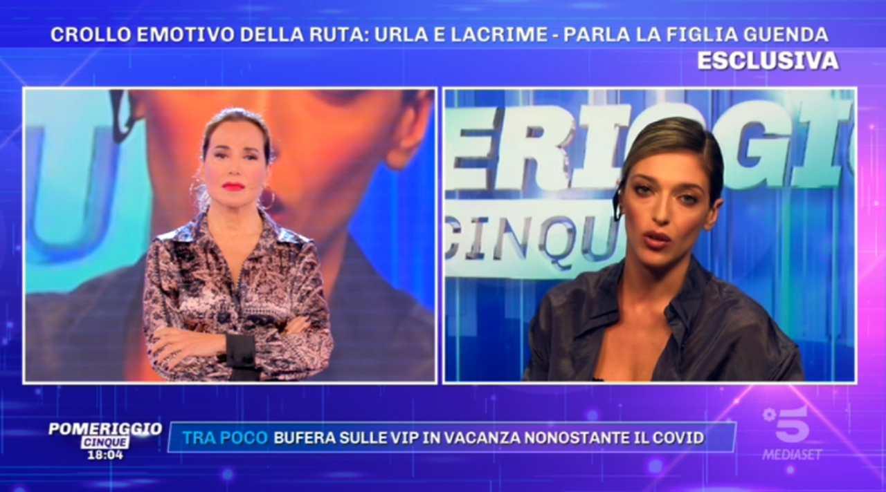 Barbara d'Urso e Guenda Goria