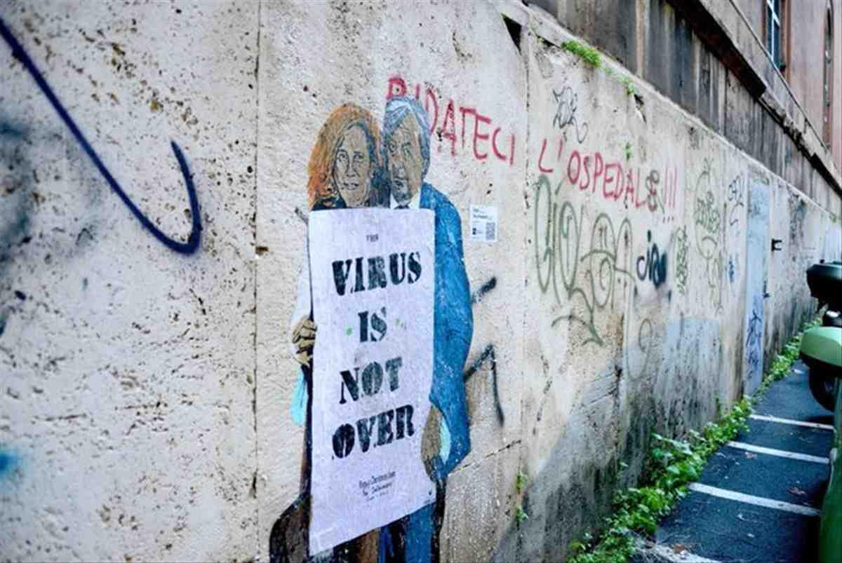 murale coronavirus