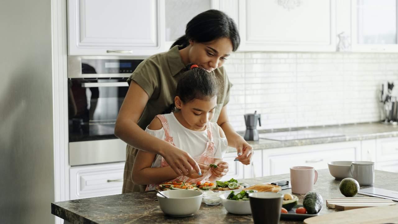 matematica bambini cucina