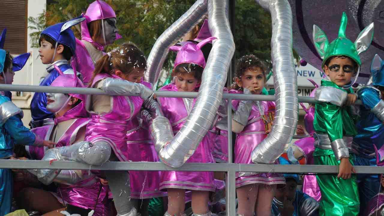 carnevale bambini