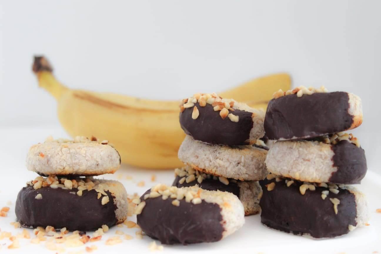 banana and coconut cookies