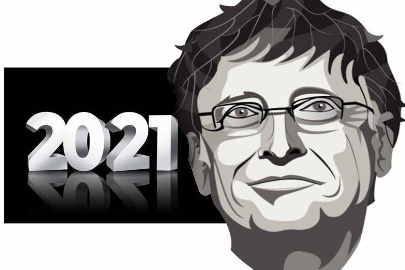 Bill Gates previsioni 2021