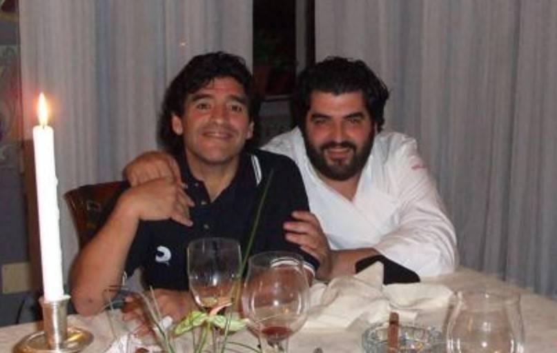 Antonino Cannavacciuolo e maradona