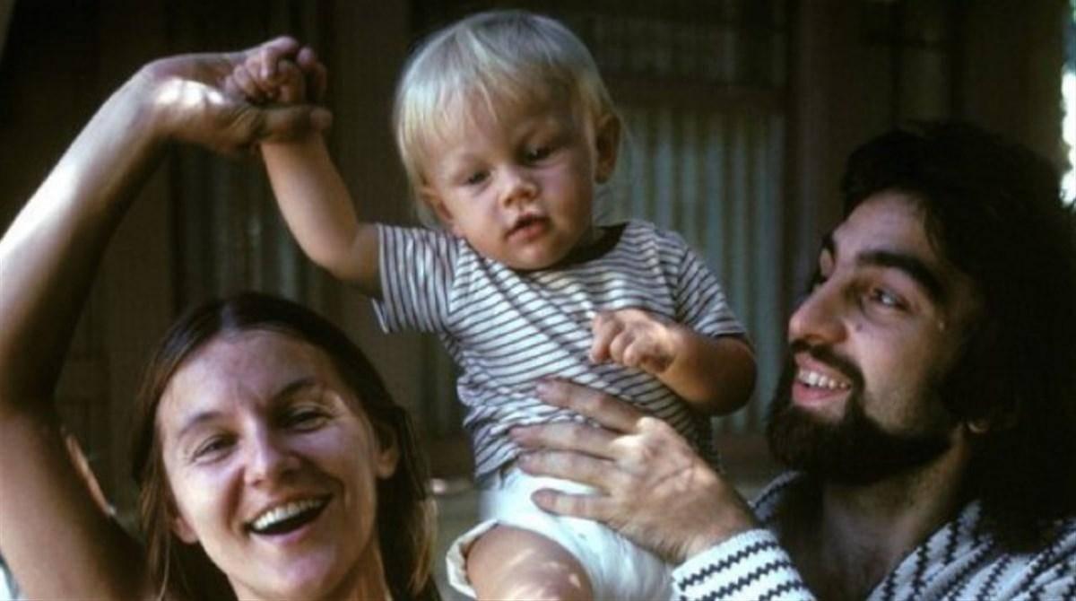 genitori leonardo di caprio