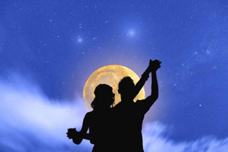 coppia luna piena