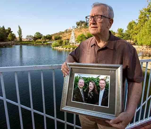 Frank Kerrigan foto dei 3 figli
