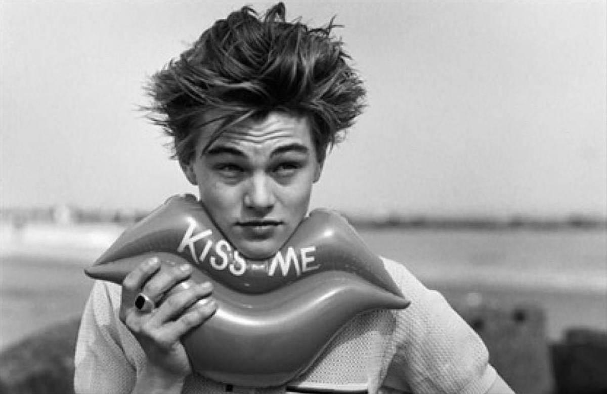 Leonardo di Caprio da giovane
