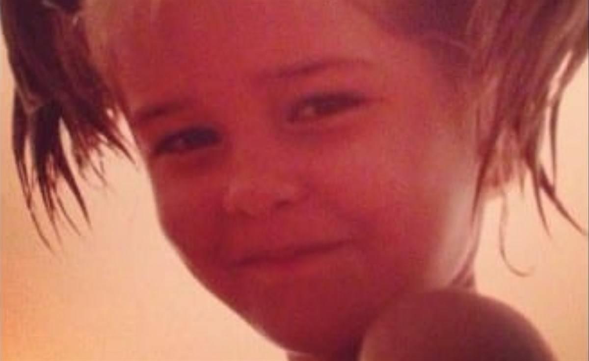Elena Santarelli bambina