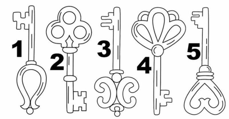 test 5 chiavi