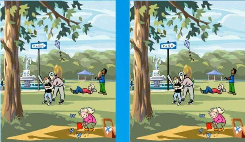 Test immagine differenze