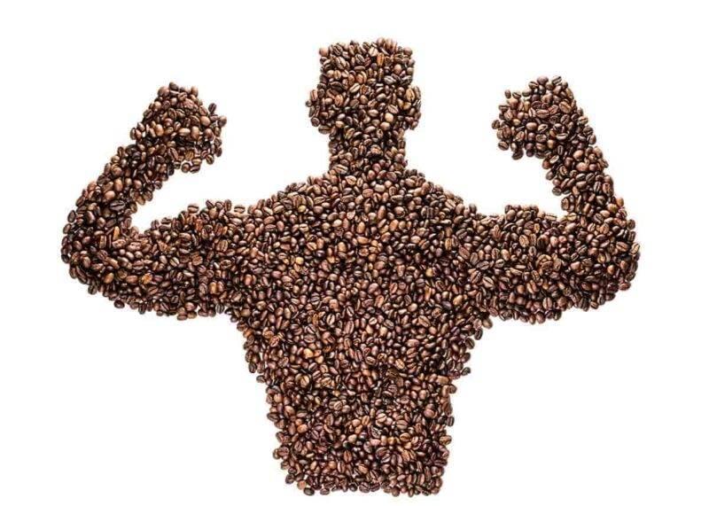 muscoli caffè
