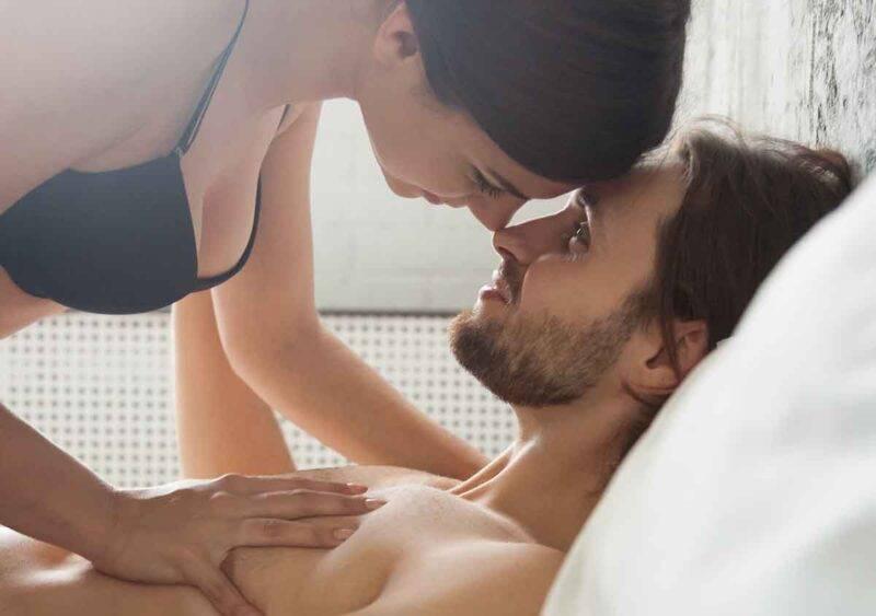 intimità donna sopra