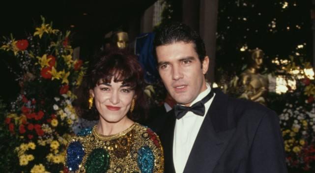 Antonio Banderas e la prima moglie