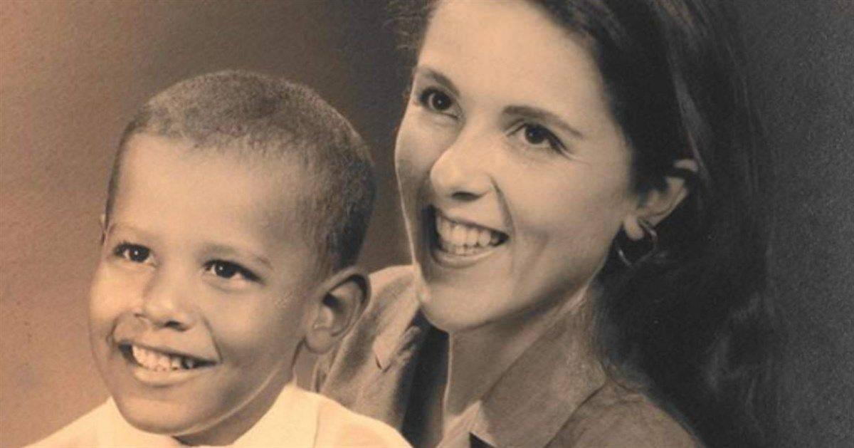 Barack Obama da piccolo vip da piccoli