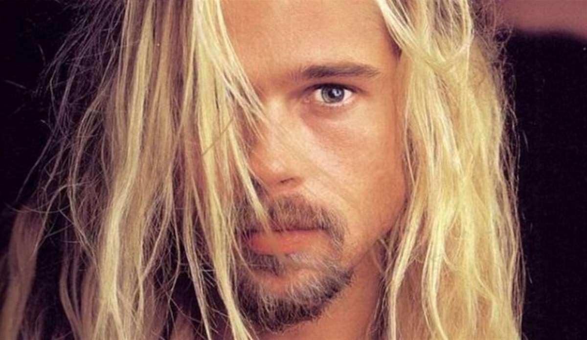 Brad Pitt giovane vip da piccoli
