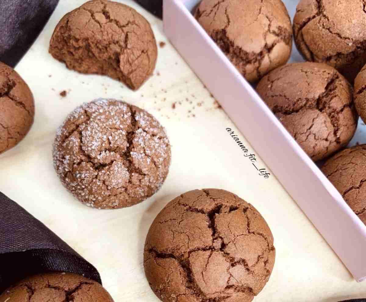 biscotti al cioccolato primo piano
