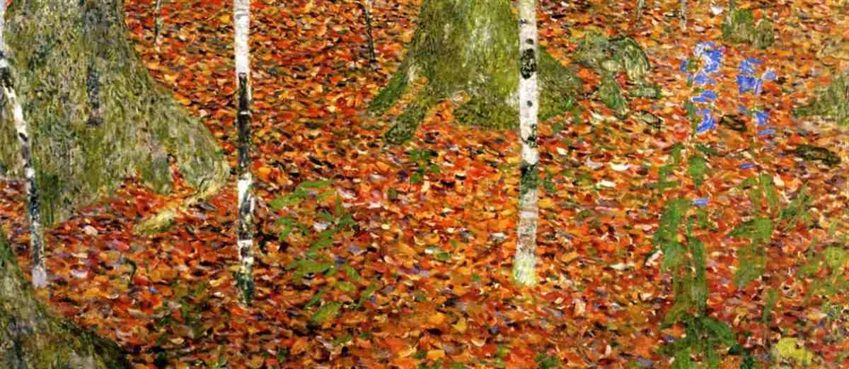 Gustav Klimt - paesaggio