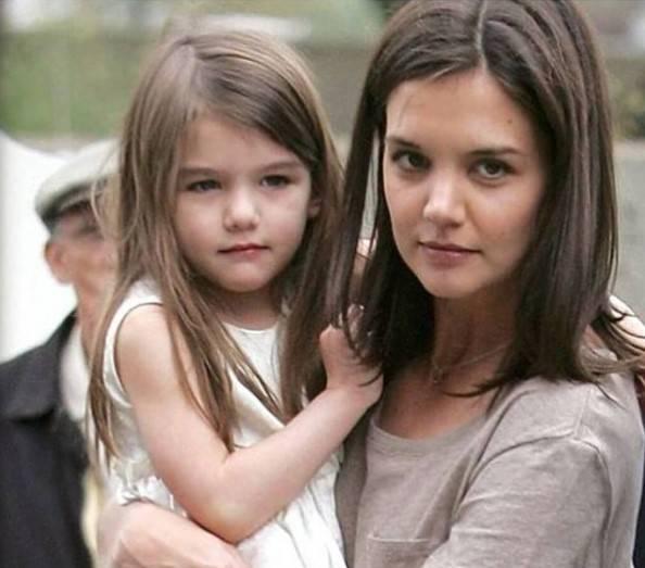 Katie Holmes figlia