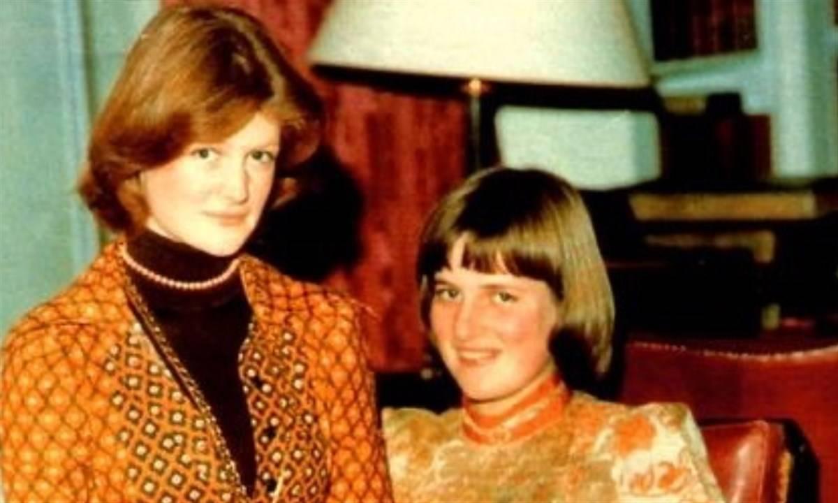 Lady Diana da giovane