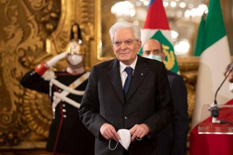 Il Presidente della Repubblica Mattarella allo Spallanzani per il vaccino (Getty Images)