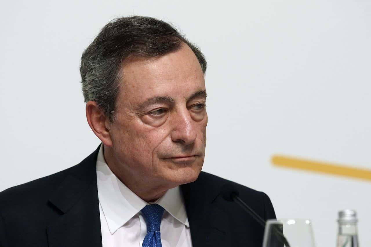 Mario Draghi discorso al Senato (Getty Images)