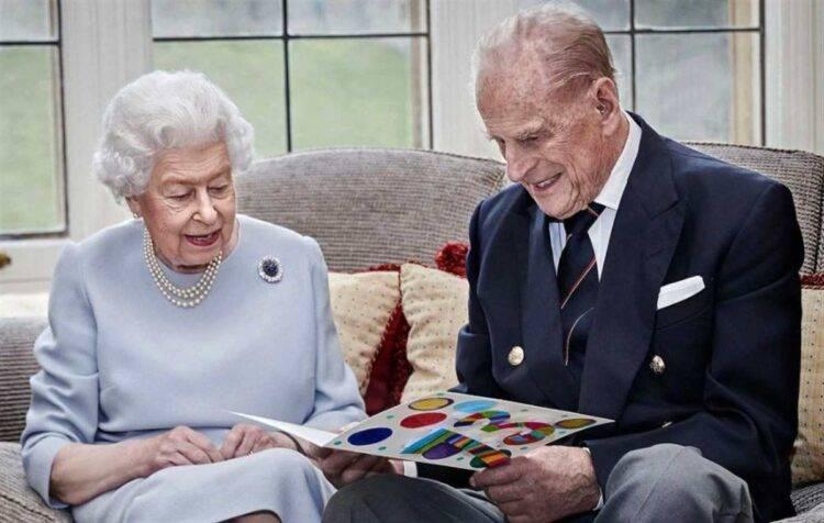 Principe Filippo Regina Elisabetta