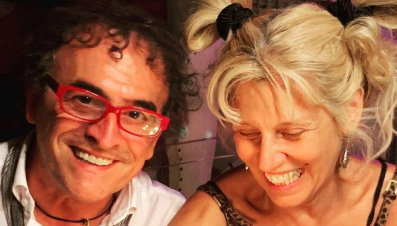 Roberto Zappulla e Maria Teresa Ruta
