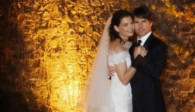 Tom Cruise e Katie Holmes matrimonio