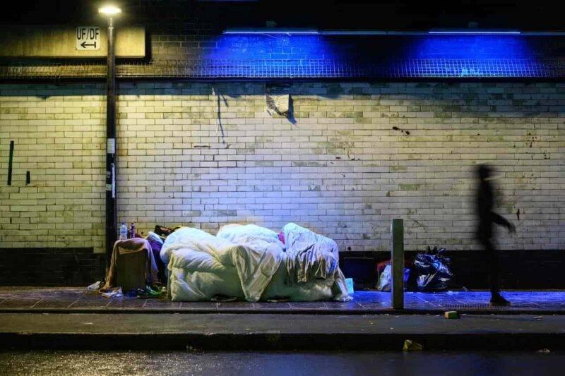 Torino, senzatetto trovato morto nel retro di un bar (Getty Images)