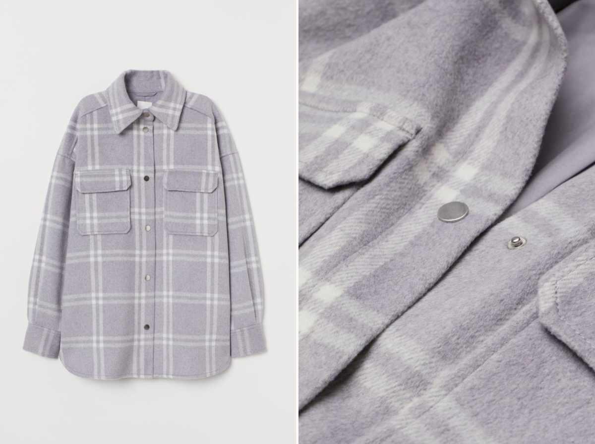 camicia di flanella
