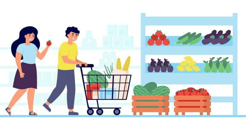 frutta e verdura ingresso