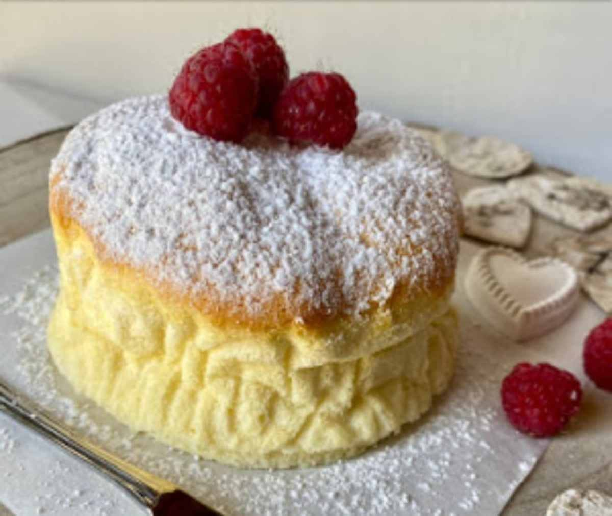 cotton cake senza glutine