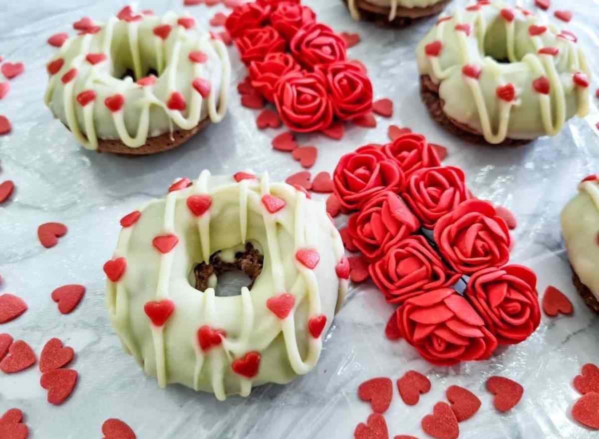 donuts di san valentino
