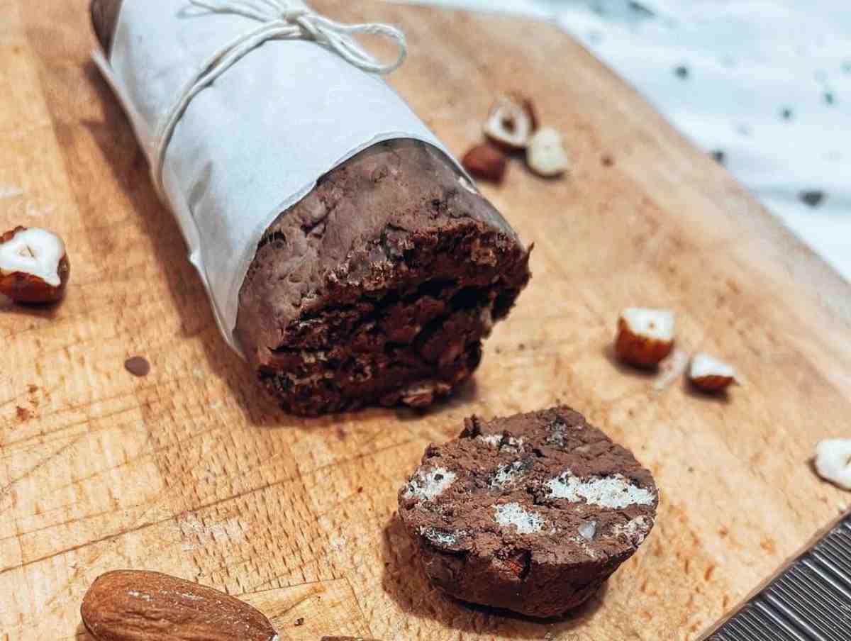 salame al cioccolato fit
