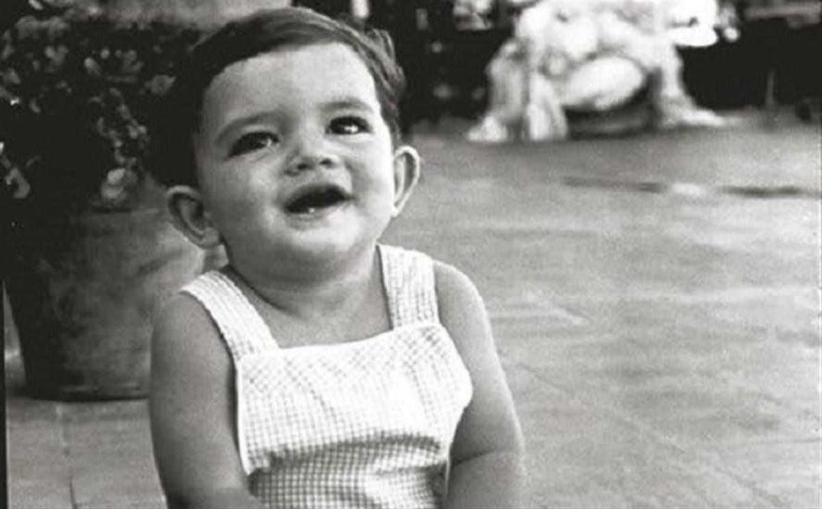 Antonio Banderas da piccolo vip da piccoli