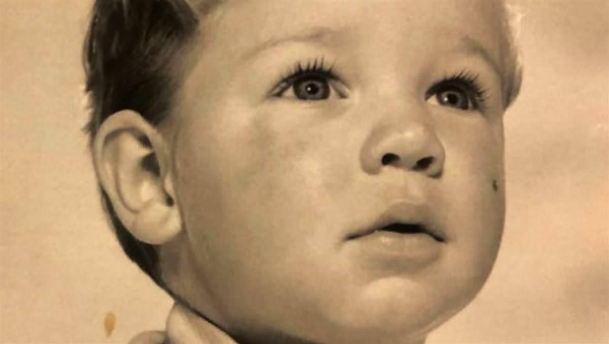 Russell Crowe da piccolo vip da piccoli