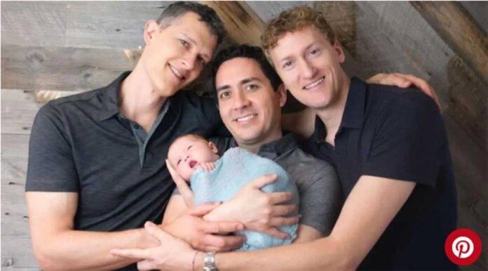 bimbo con tre papà