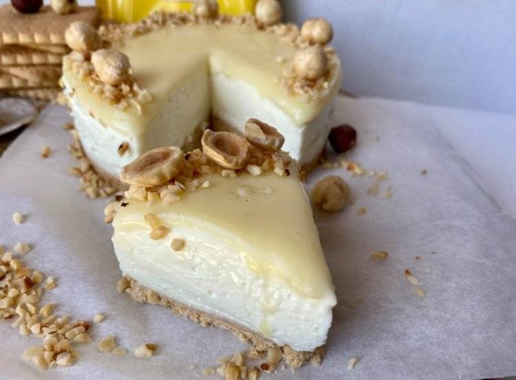 Baby White Nuts Cheesecake