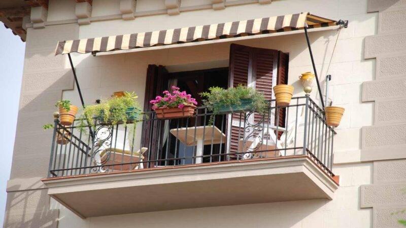 balcone piccolo