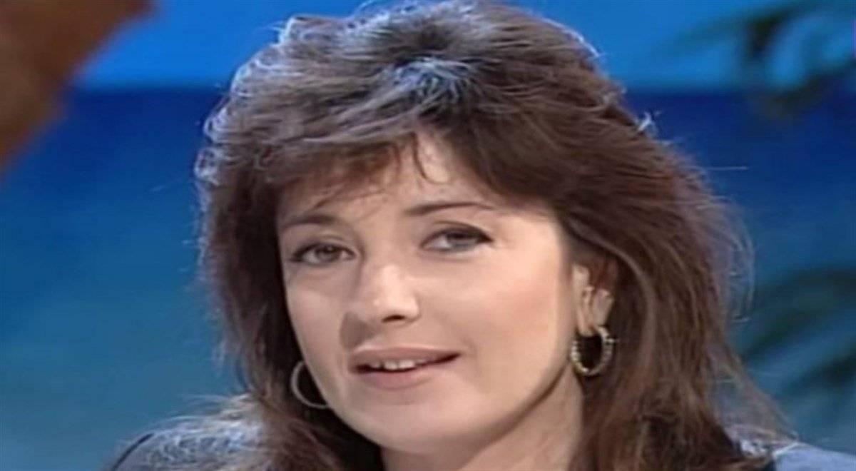 Barbara Palombelli quando era giovane