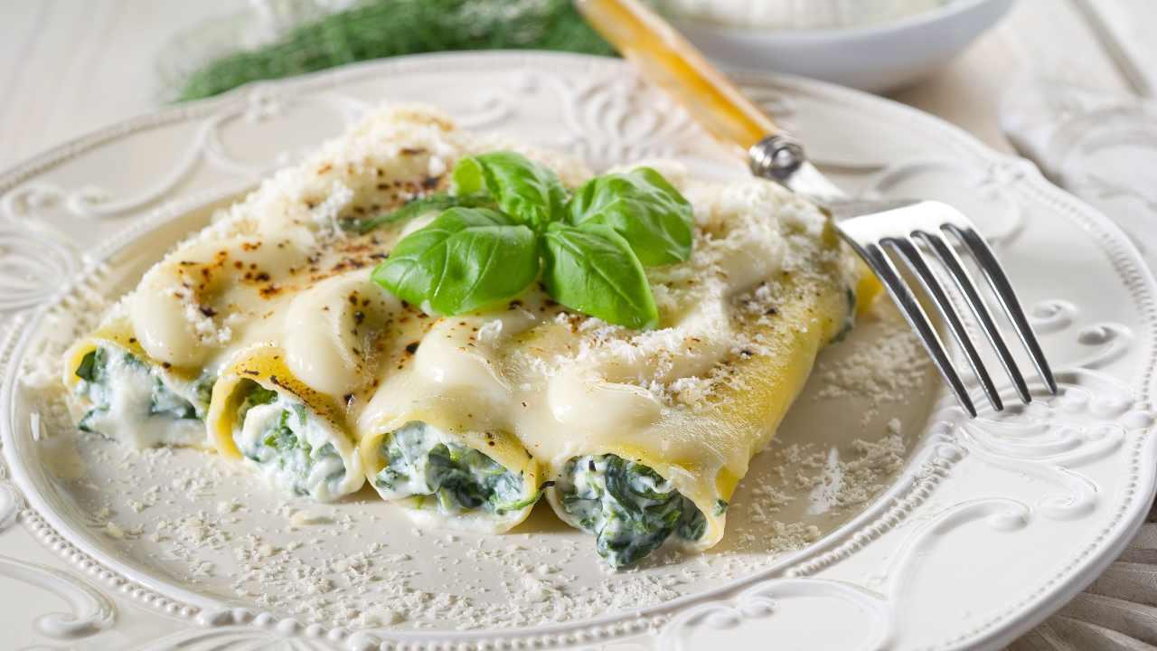 cannelloni spinaci