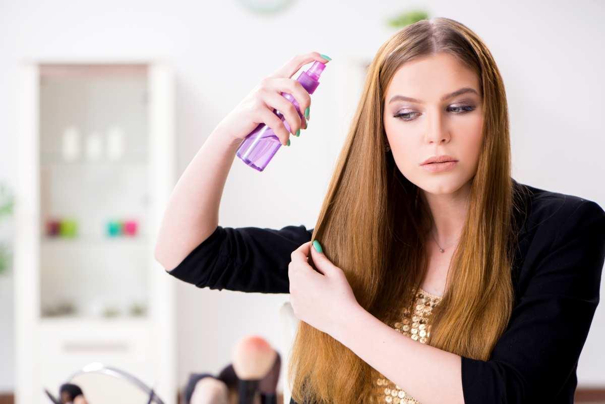 spray per capelli