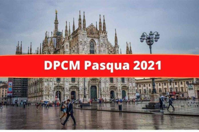 DPCM Pasqua 2021