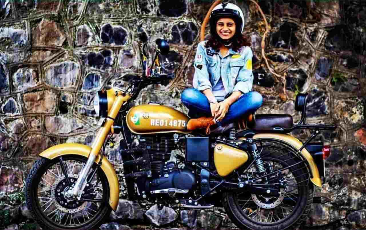 Donne in motocicletta