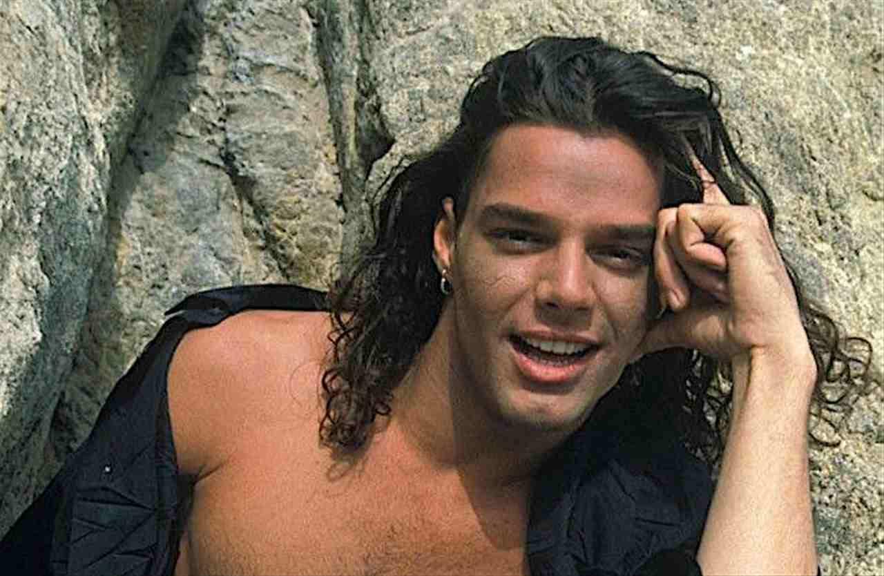 Ricky Martin da giovane