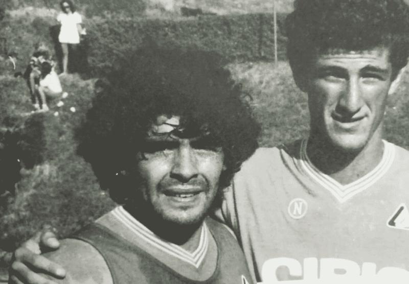 Ferrara e Maradona (Instagram)